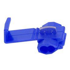 Kábeltoldó 2x1,02 - 1,63mm-ig - Kék