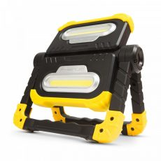 Multifunkciós reflektor - dupla LED - 2x10W, Li-ion akkumulátorral, PowerBank funkció