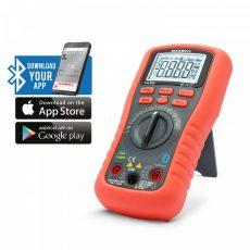 Smart, digitális multiméter - Bluetooth, LED háttérvilágítás - MAXWELL