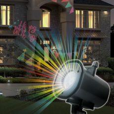 LED-es partyfény 12W, karácsony, halloween, party, tél - IP22