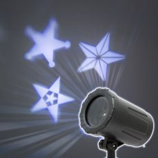 LED csillagos mini projektor - IP67