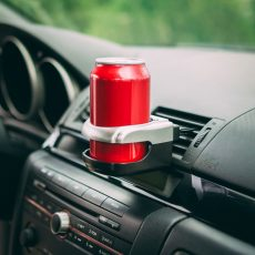 Autós italtartó - szellőzőrácsra rögzíthető