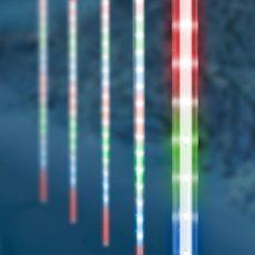 Meteor jégcsap 50 cm színes LED