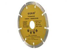 Gyémánt vágótárcsa 125x8x22,2mm szegmentált, PROFI